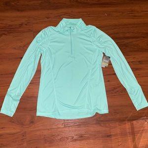 NWT Women's Danskin quarter zip shirt